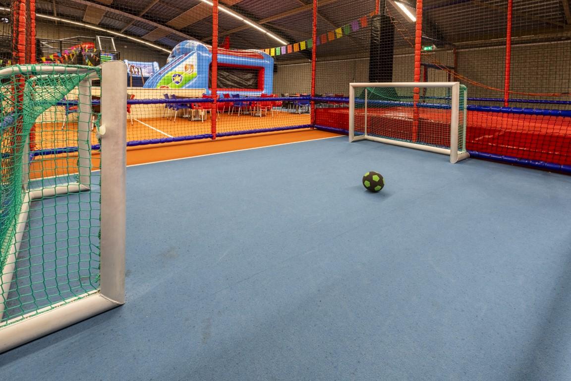 Voetballen indoor